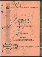 BNPS.co.uk (01202 558833)<br /> Pic : RRAuctions/BNPS<br /> <br /> The detailed flight plan.<br /> <br /> 'Step to surface' - One small step-by-step for man...<br /> <br /> Fascinating step-by-step plan of the historic first moon landing reveals NASA's meticulous planning. <br /> <br /> A collection of rare artefacts from the Apollo 11 mission are being sold on the 50th anniversary of the historic moon landings.<br /> <br /> The sale also includes an American flag carried to the moon, Neil Armstrong's toy plane that first inspired him to fly, along with his Robbins medal and the visitors book from Airforce One with comments from the astronauts and their wives.<br /> <br /> The items are going under the hammer with US based RR Auctions who expect them to fetch over £127,000. ($160,000)