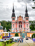 Święta Lipka, 2019-08-14. Sanktuarium Maryjne - Bazylika pw. Nawiedzenia NM Panny w Świętej Lipce.