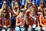 The Hague, Netherlands, June 15: Players of the dutch women national team celebrate during the field hockey gold match (Men) between Australia and The Netherlands on June 15, 2014 during the World Cup 2014 at Kyocera Stadium in The Hague, Netherlands. Final score 6-1 (2-1)  (Photo by Dirk Markgraf / www.265-images.com) *** Local caption ***