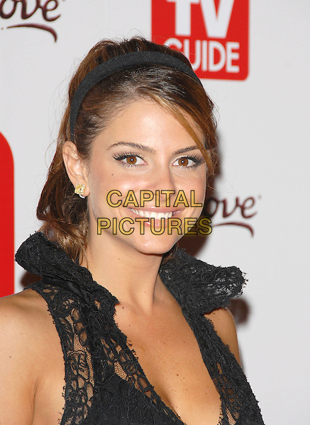 MARIA MENOUNOS.The 4th Annual TV Guide Post Emmy Party held at Social in Hollywood, California, USA..August 27th, 2006.Ref: DVS.headshot portrait alice band .www.capitalpictures.com.sales@capitalpictures.com.©Debbie VanStory/Capital Pictures