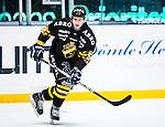Stockholm 2014-01-18 Ishockey SHL AIK - F&auml;rjestads BK :  <br /> AIK:s Guntis Galvins <br /> (Foto: Kenta J&ouml;nsson) Nyckelord:  portr&auml;tt portrait