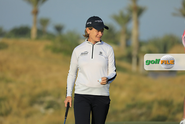 Catriona Matthew (SCO) during the first round of the Fatima Bint Mubarak Ladies Open played at Saadiyat Beach Golf Club, Abu Dhabi, UAE. 10/01/2019<br /> Picture: Golffile | Phil Inglis<br /> <br /> All photo usage must carry mandatory copyright credit (&copy; Golffile | Phil Inglis)