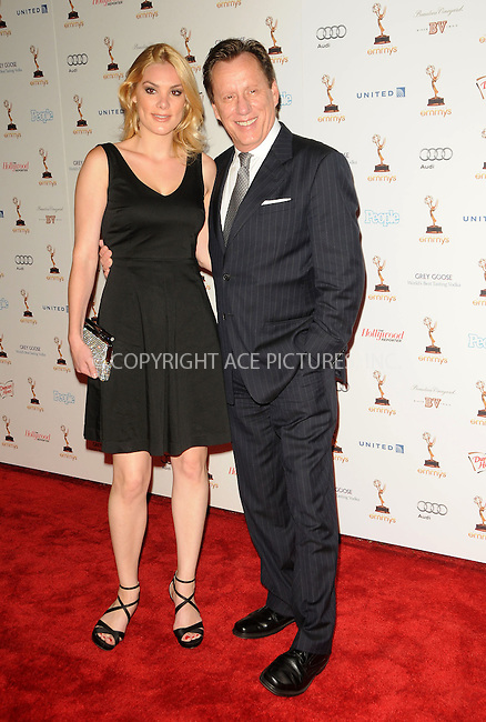 WWW.ACEPIXS.COM . . . . .  ....September 16 2011, LA....Actor James Woods (R) and Ashley Madison arriving at the 63rd Annual Emmy Awards Performers Nominee Reception held at Pacific Design Center on September 16, 2011 in West Hollywood, California. ....Please byline: PETER WEST - ACE PICTURES.... *** ***..Ace Pictures, Inc:  ..Philip Vaughan (212) 243-8787 or (646) 679 0430..e-mail: info@acepixs.com..web: http://www.acepixs.com