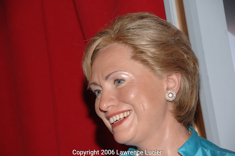 Hillary Clinton's wax figure
