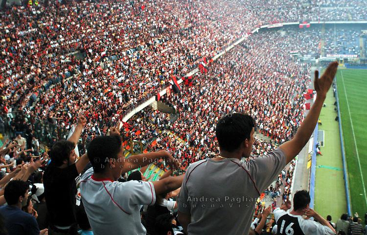 Italia, Milano, Stadio San Siro. Italy, Milan, San Siro stadium.