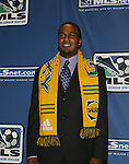 12 January 2007: Robbie Findley was taken as the third pick of the second round (16th overall) by the Los Angeles Galaxy. The 2007 MLS SuperDraft was held in the Indianapolis Convention Center in Indianapolis, Indiana during the National Soccer Coaches Association of America's annual convention.