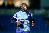 Adebayo Akinfenwa of Wycombe Wanderers during the The Checkatrade Trophy match between Wycombe Wanderers and West Ham United U21 at Adams Park, High Wycombe, England on 4 October 2016. Photo by David Horn.