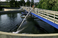 Settling Ponds, Sewage Treatment Plant