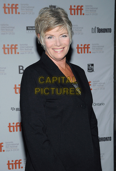 "Kelly McGillis.""Stake Land"" Premiere - 2010 Toronto International Film Festival held at Ryerson Theatre, Toronto, Ontario, Canada..September 17th, 2011  .half length black skirt jacket side smiling .CAP/ADM/BPC.©Brent Perniac/AdMedia/Capital Pictures."