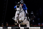 Riders compete during the horse jumping Hong Kong Masters 2014 on February 21, 2014 at Asia World Expo in Hong Kong, China. Photo by Xaume Olleros / Power Sport Images
