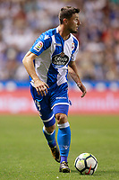 Deportivo de la Coruna's Borja Valle during La Liga match. August 20,2017.  *** Local Caption *** © pixathlon