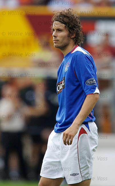 Karl Svensson, Rangers.stock season 2006-2007.pic willie vass