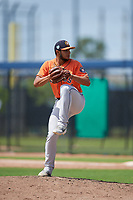 Houston Astros pitcher Nivaldo Rodriguez (60) during a Minor League Spring Training Intrasquad game on March 28, 2019 at the FITTEAM Ballpark of the Palm Beaches in West Palm Beach, Florida.  (Mike Janes/Four Seam Images)