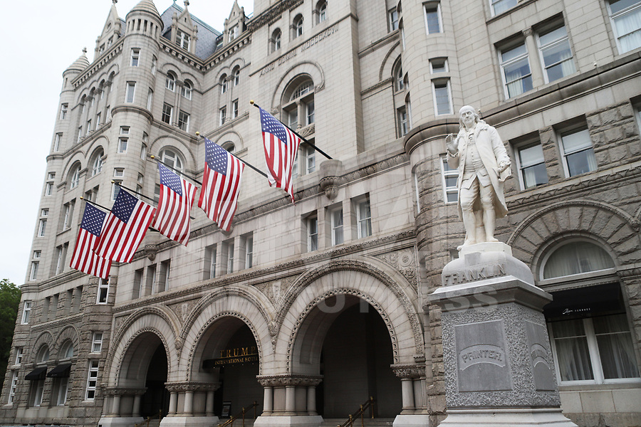 WASHINGTON DC, EUA, 08.10.2019 - ECONOMIA-WASHINGTON DC - Trump International Hotel, na cidade de Washington DC, capital dos Estados Unidos, nesta terça-feira, 8. (Foto Charles Sholl/Brazil Photo Press/Folhapress)
