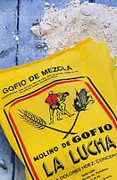 Europe/Espagne/Canaries/Lanzarote : Farine de maïs