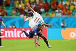 Georginio Wijnaldum (NED), <br /> JUNE 13, 2014 - Football /Soccer : <br /> 2014 FIFA World Cup Brazil <br /> Group Match -Group B- <br /> between Spain 1-5 Netherlands <br /> at Arena Fonte Nova, Salvador, Brazil. <br /> (Photo by YUTAKA/AFLO SPORT) [1040]