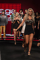 S&Atilde;O PAULO-SP-03.03.2015 - INVERNO 2015/MEGA FASHION WEEK - Fernanda Lacerda/Mendigata/<br /> O Shopping Mega Polo Moda inicia a 18&deg; edi&ccedil;&atilde;o do Mega Fashion Week, (02,03 e 04 de Mar&ccedil;o) com as principais tend&ecirc;ncias do outono/inverno 2015.Com 1400 looks das 300 marcas presentes no shopping de atacado.Br&aacute;z-Regi&atilde;o central da cidade de S&atilde;o Paulo na manh&atilde; dessa segunda-feira,02.(Foto:Kevin David/Brazil Photo Press)