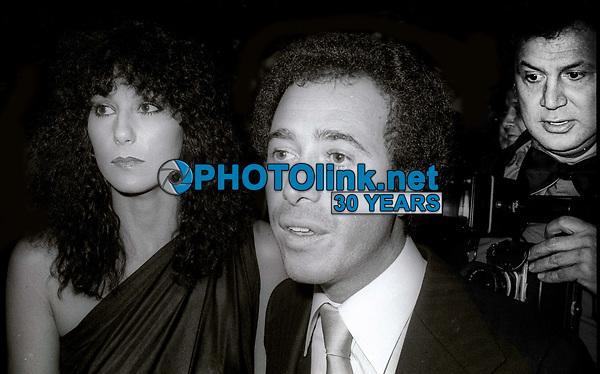 Cher David Geffen Ron Galella 1978<br /> Photo By Adam Scull/PHOTOlink.net