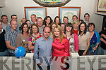5681-5686.---------.30th Bash.---------.Damian McMahon,Castlegregory(front centre)had cracker at his 30th birthday party last saturday night in Kirby's Brogue,lower Rock St,Tralee with many friends and family.