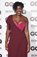 LONDON, UK. September 05, 2018: Clara Amfo at the GQ Men of the Year Awards 2018 at the Tate Modern, London
