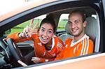 2015 Oranje Volvo op toernee