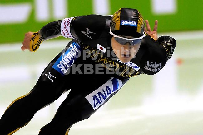 HEERENVEEN - Schaatsen, IJsstadion Tialf, World Cup, 2011-2012, 02-12-2011,  Yuji Kamijo