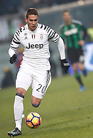 Calcio, Serie A: Sassuolo vs Juventus. Reggio Emilia, Mapei Stadium, 29 gennaio 2017. <br /> Juventus&rsquo; Marko Pjaca in action during the Italian Serie A football match between Sassuolo and Juventus at Reggio Emilia's Mapei stadium, 29 January 2017<br /> UPDATE IMAGES PRESS/Isabella Bonotto