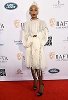 04 January 2020 - Beverly Hills, California - Cynthia Erivo. The 2020 BAFTA Los Angeles Tea Party held at Four Seasons Los Angeles . Photo Credit: Birdie Thompson/AdMedia