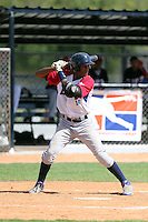 Anderson Caro participates in the Dominican Prospect League 2014 Louisville Slugger Tournament at the New York Yankees academy in Boca Chica, Dominican Republic on January 20-21, 2014 (Bill Mitchell)