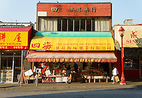 Herbal and health food products store in Chinatown, Vancouver, British Columbia, Canada               .