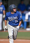Wildcats' Bradley Lewis runs the bases against Colorado Northwestern at Western Nevada College, in Carson City, Nev., on Friday, March 13, 2015. <br /> Photo by Cathleen Allison