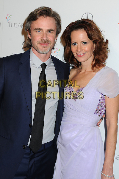 11 January 2014 - Los Angeles, California - Sam Trammell, Missy Yager. 7th Annual Art of Elysium Heaven Gala held at the Skirball Cultural Center.  <br /> CAP/ADM/BP<br /> &copy;Byron Purvis/AdMedia/Capital Pictures