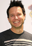 "UNIVERSAL CITY, CA. - May 16: Musician Mark Hoppus of Blink 182 arrives at the ""Shrek Forever After"" Los Angeles Premiere at Gibson Amphitheatre on May 16, 2010 in Universal City, California."