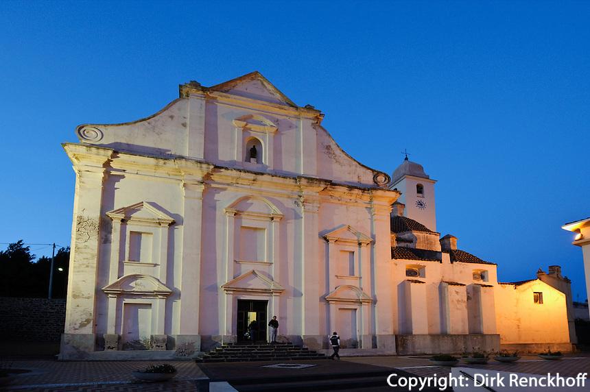 Pfarrkirche San Giacomo (18.Jh.) in Orosei, Provinz Nuoro, Ost - Sardinien, Italien