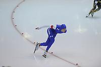 SCHAATSEN: HEERENVEEN: 14-12-2014, IJsstadion Thialf, ISU World Cup Speedskating, Brittany Bowe (USA), ©foto Martin de Jong