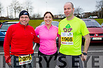 Mike Heaney, Mags Heany, Mike Sheehy runners at the Kerry's Eye Tralee, Tralee International Marathon and Half Marathon on Saturday.