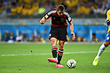 Miroslav Klose (GER),<br /> JULY 8, 2014 - Football / Soccer : Miroslav Klose of Germany scores his team's second goal during the FIFA World Cup 2014 semi-finals match between Brazil 1-7 Germany at Mineirao stadium in Belo Horizonte, Brazil.<br /> (Photo by FAR EAST PRESS/AFLO)