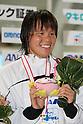 Shiho Sakai, .FEBRUARY 11, 2012 - Swimming : .The 53rd Japan Swimming Championships (25m) .Women's 50m Backstroke Victory Ceremony .at Tatsumi International Swimming Pool, Tokyo, Japan. .(Photo by YUTAKA/AFLO SPORT) [1040]