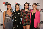 "Kate Rockwell, Krystyna Alabado, Barret Wilbert Weed and Taylor Louderman attends MCC Theater presents ""Miscast 2019"" at The Hammerstein Ballroom on April 1, 2019 in New York City."