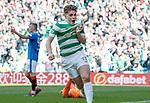 29.04.18 Celtic v Rangers: James Forrest celebrates his goal