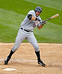 10 September 2006: Nick Johnson, first baseman for the Washington Nationals, in action against the Colorado Rockies. The Rockies defeated the Nationals 13-9 at Coors Field in Denver, Colorado...Mandatory Photo Credit: Ed Wolfstein.