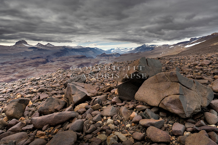 Mount Baldr the Asguard mountain Range, The Dry Valleys. Antarctica.