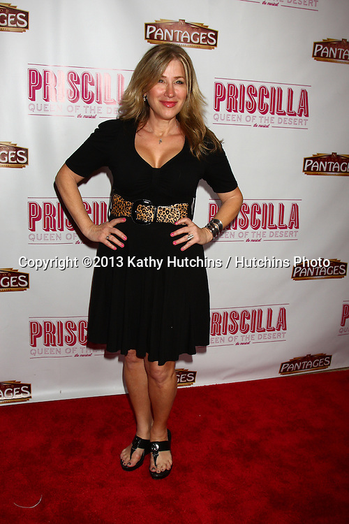 "LOS ANGELES - MAY 29:  Lisa Ann Walter arrives at  the ""Priscilla Queen of the Desert"" Play Opening at the Pantages Theater on May 29, 2013 in Los Angeles, CA"