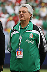 10 June 2007: Justino Compean, president of the Federacion Mexicana de Futbol Asociacion. The Honduras Men's National Team defeated the National Team of Mexico 2-1 at Giants Stadium in East Rutherford, New Jersey in a first round game in the 2007 CONCACAF Gold Cup.