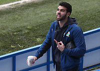 \Blackburn Rovers' David Raya arrives at the ground<br /> <br /> Photographer Rachel Holborn/CameraSport<br /> <br /> The EFL Sky Bet League One - Blackburn Rovers v Oldham Athletic - Saturday 10th February 2018 - Ewood Park - Blackburn<br /> <br /> World Copyright &copy; 2018 CameraSport. All rights reserved. 43 Linden Ave. Countesthorpe. Leicester. England. LE8 5PG - Tel: +44 (0) 116 277 4147 - admin@camerasport.com - www.camerasport.com