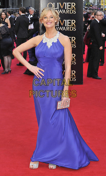 LONDON, ENGLAND - APRIL 13: Katherine Kingsley attends the Olivier Awards 2014, Royal Opera House, Covent Garden, on Sunday April 13, 2014 in London, England, UK.<br /> CAP/CAN<br /> &copy;Can Nguyen/Capital Pictures