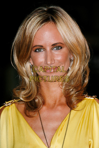 "LADY VICTORA HERVEY .at the UK film premiere of ""Tropic Thunder"", at Odeon Leicester Square, in London, England, September 16, 2008..portrait headshot  yellow.CAP/DAR.©Darwin/Capital Pictures"