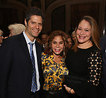 "Tom Kitt, Daphne Rubin-Vega and Rita Pietropinto attend the After Party for the New York City Center Celebrates 75 Years with a Gala Performance of ""A Chorus Line"" at the City Center on November 14, 2018 in New York City."