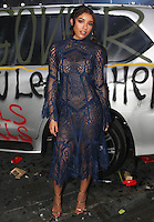 NEW YORK, NY - SEPTEMBER 10, 2016 Yovanna Ventura attends the Alexander Wang Fashion Show after party September 10, 2016 at Pier 94 in New York City. Photo Credit: Walik Goshorn / Mediapunch
