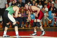 9 February 2005: Rafael Chavez during wrestling at Burnham Pavilion in Stanford, CA.